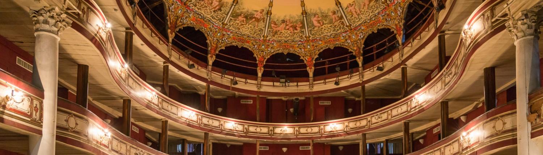 Innenraum Opera Mauritius