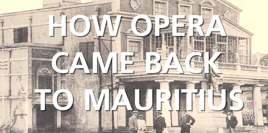 How Opera came back - Freunde der Opera Mauritius