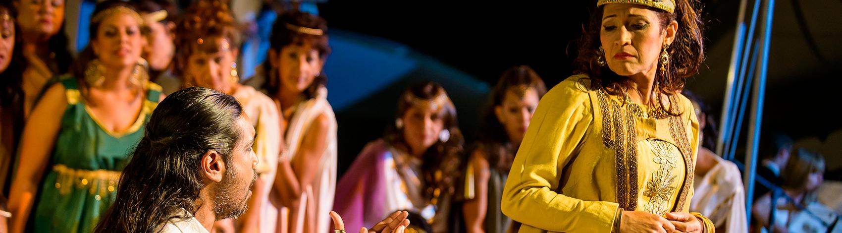 Szene aus einer Aufführung der Opera Mauritius