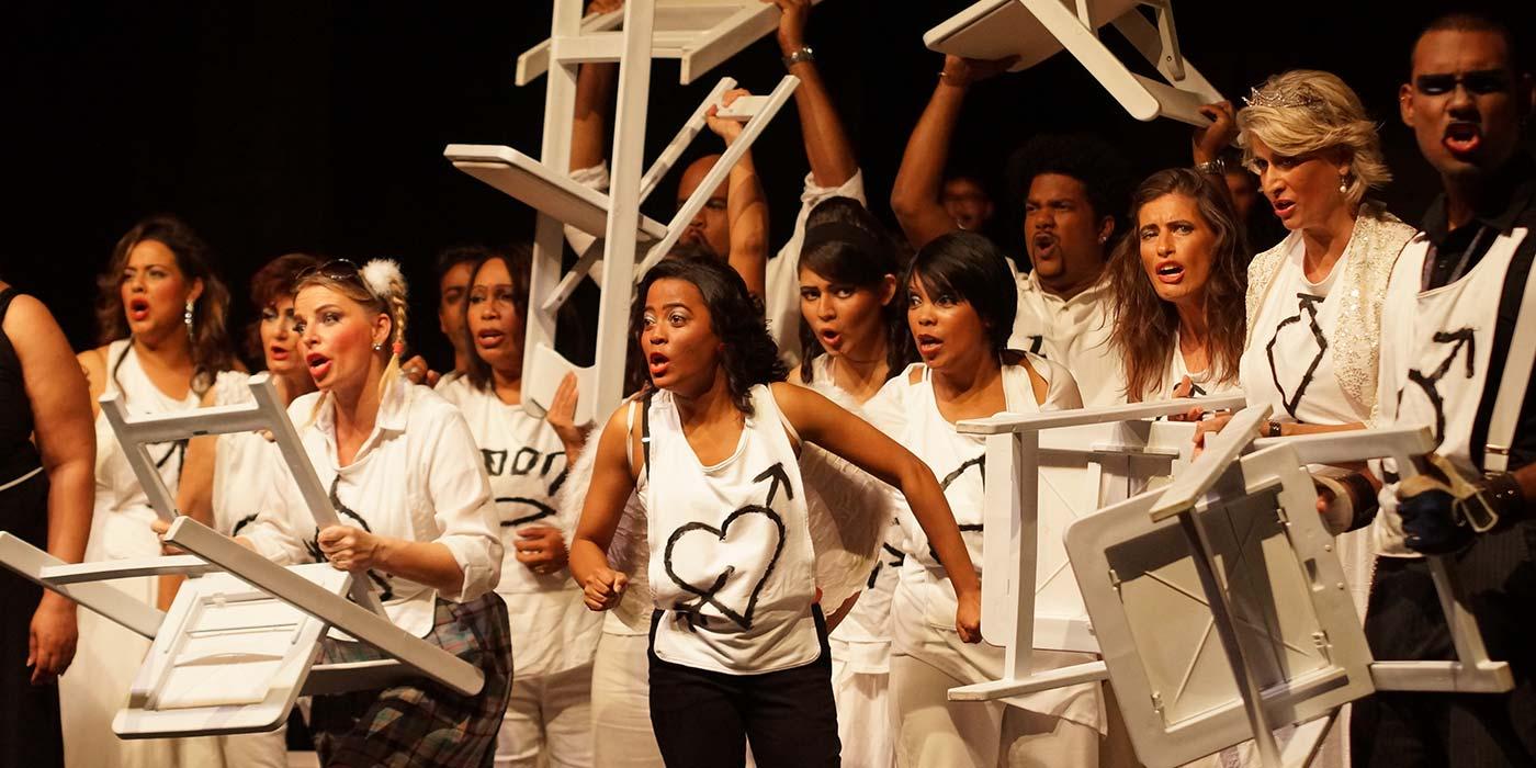 Opernszene der Opera Mauritius