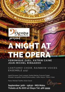 Plakat A Night at the Opera