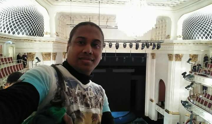 Kevin in der Oper in Berlin