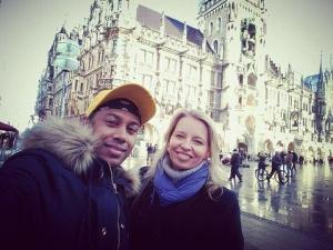 Kevin und Katrin Caine in München