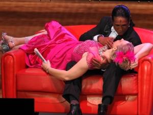 "Jean-Michel Ringadoo und Katrin Caine in ""La Veuve joyeuse"""