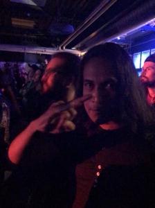 Bei einem Metal-Konzert in München