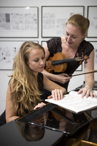 Simone Strohmeier und Swetlana Meermann-Muret