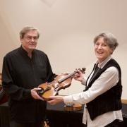 Albert Ginthör und Helene von Bibra