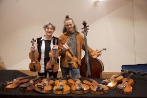 Helene von Bibra und Roland Strobl