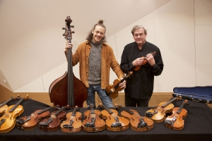 Roland Strobl und Albert Ginthör
