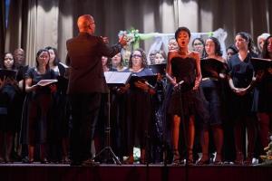 Melanie und der Allegria Choir